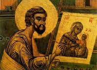 St. Luke and the first Icon